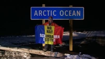 Un român a parcurs 617 km la Cercul Polar și s-a clasat pe locul 3 în cel mai dificil maraton din lume – VIDEO