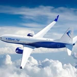 Ofertă temporară Blue Air: Două bilete la preț de unul