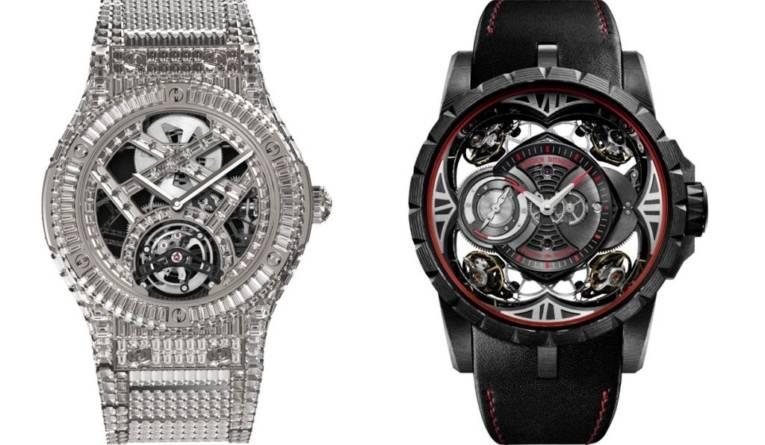 Cele mai scumpe ceasuri din lume. Piese spectaculoase de la Hublot și Roger Dubuis