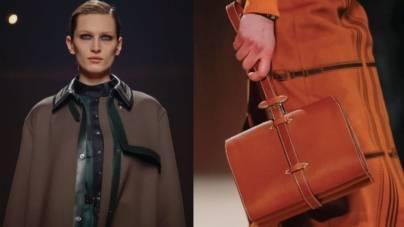 Hermes la Paris: eleganță sobră, piele și nuanțe pale