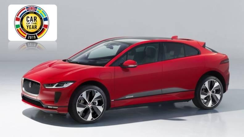 Jaguar I-Pace este European Car of the Year 2019