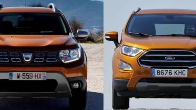 Dacia Duster și Ford EcoSport, vectori importanți pentru creșterea pieței europene