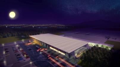 Terminalul viitorului aeroport din Brașov costă 145 mil. lei