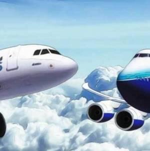 Airbus, pe urmele Boeing: Fără comenzi timp de o lună