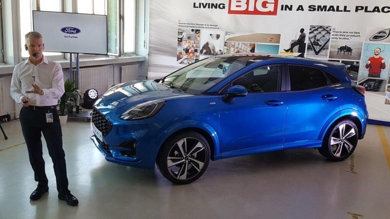 SUV-ul Ford Puma intră, de astăzi, în producția de serie la Craiova