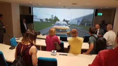 Grupul Renault România a inaugurat astăzi noul său sediu din București