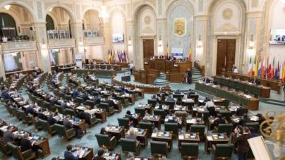 Parlamentul a adoptat abrogarea pensiilor speciale pentru senatori şi deputaţi