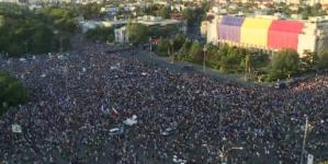 250.000 de persoane, așteptate astăzi la manifestația din București