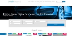 A fost lansată prima platformă online prin care poți comanda, plăti și primi mașina dorită printr-un proces digitalizat