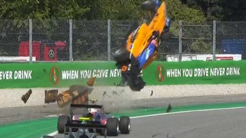 Accident spectaculos, astăzi, în Formula 3 – VIDEO