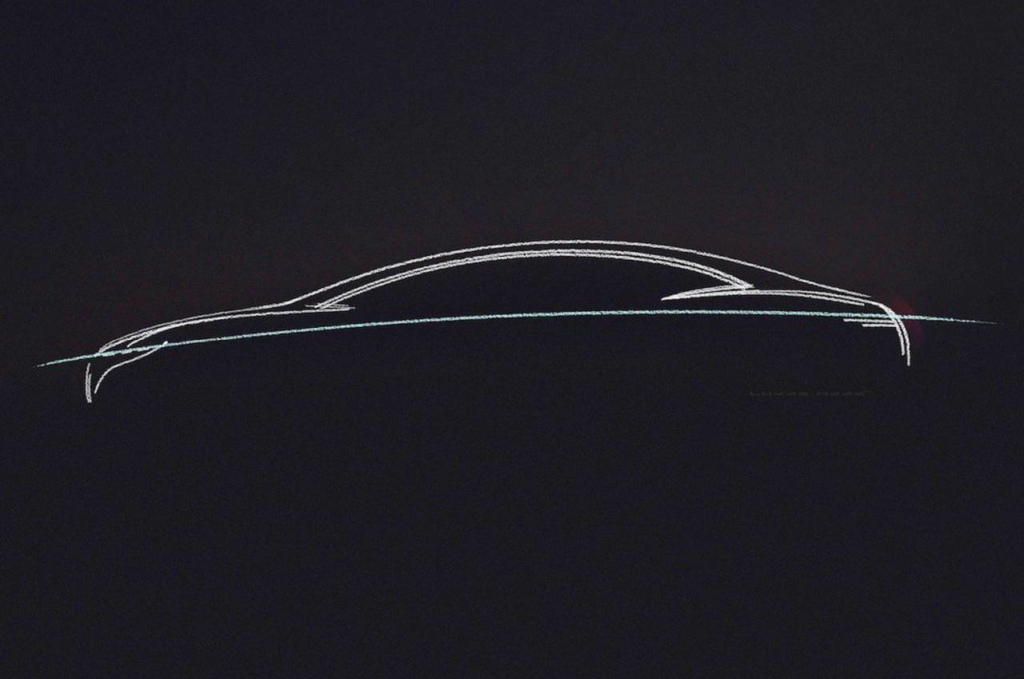 Mercedes Benz Show Car EQS