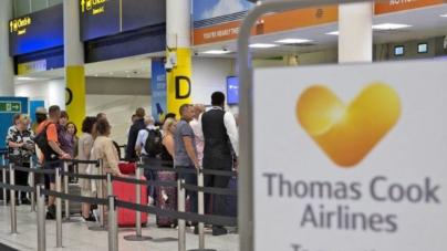 Dezastru în Marea Britanie. Thomas Cook a intrat în faliment și sute de mii de turiști trebuie aduși acasă