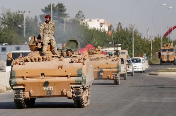 Ofensiva turcă are un nou adversar redutabil. Siria trimite trupe la granița sa de nord