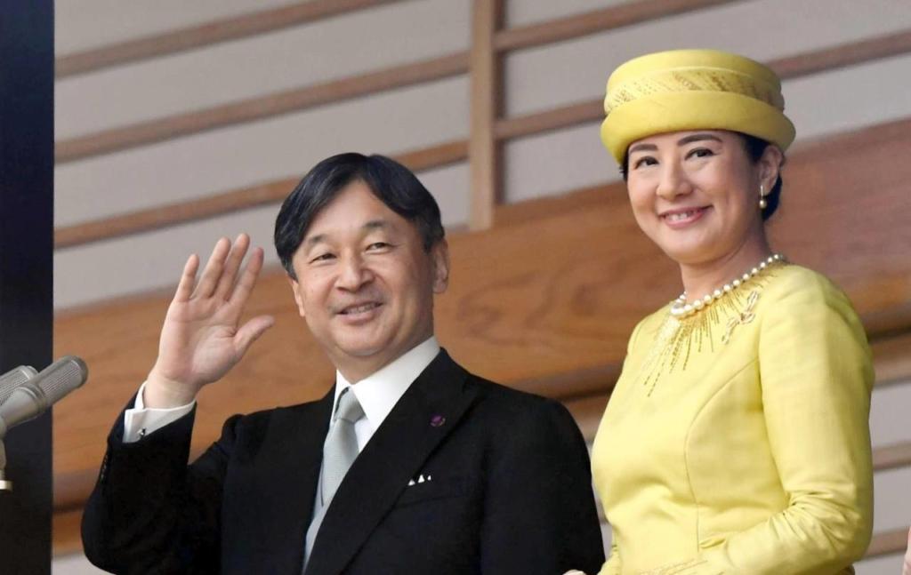 Naruhito - Incoronare Japonia