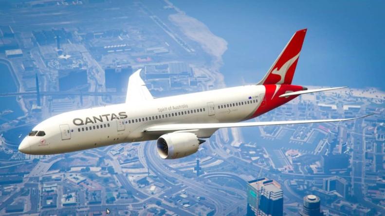 Cel mai lung zbor, fără escală, cu un avion comercial, finalizat de Qantas