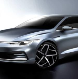 Volkswagen va prezenta noul Golf pe 24 octombrie. Iată prima schiță oficială