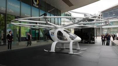 Volocopter a testat taxiul său zburător la Singapore – VIDEO