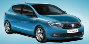 Așa va arăta a treia generație Dacia Sandero