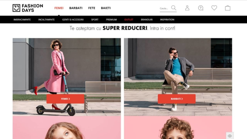 Fashion Days va intra în Top 10 în acest an. Principalii retaileri de fashion vor genera afaceri de peste 18,5 mld. lei