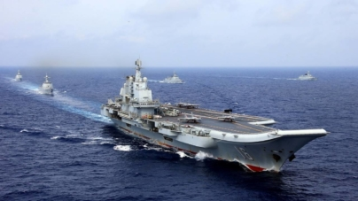 China testează cel de-al doilea portavion al său