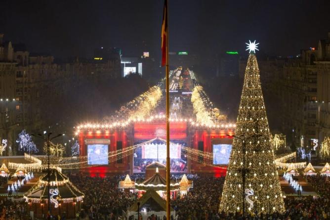 Mâine se deschide Târgul de Crăciun din București