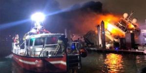 Iahtul de 7 mil. USD deținut de Marc Anthony, distrus de un incendiu