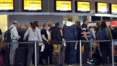 Un sindicat Lufthansa amenință cu greva. În noiembrie, o acțiune similară a afectat 200.000 de pasageri