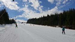 Au fost deschise primele pârtii de schi din România