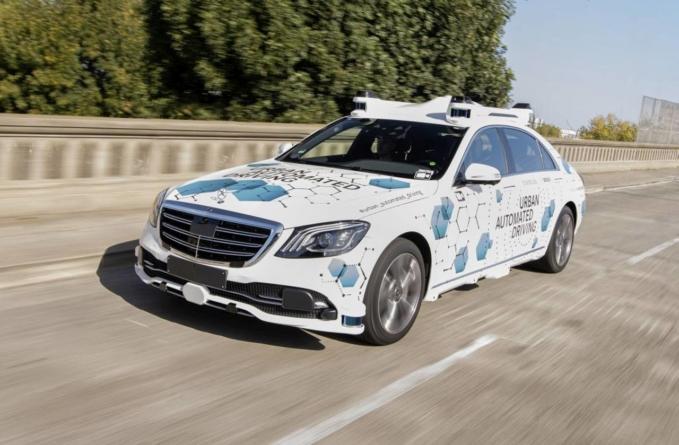 Mercedes-Benz și Bosch oferă vehicule clasa S automatizate pentru un serviciu de transport pe bază de aplicație