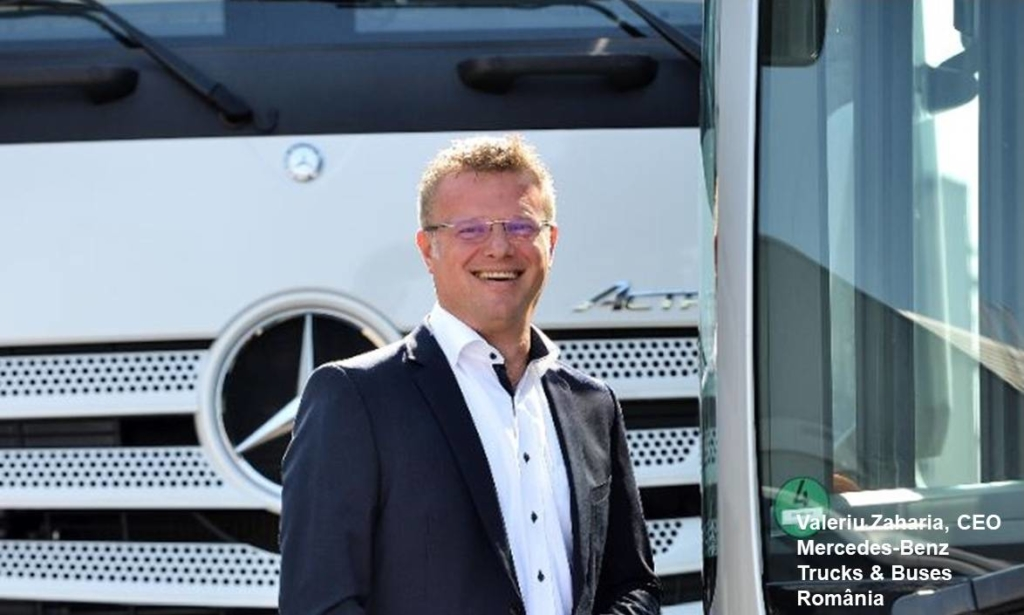 Mercedes-Benz Trucks & Buses Romania - Valeriu Zaharia - CEO 1