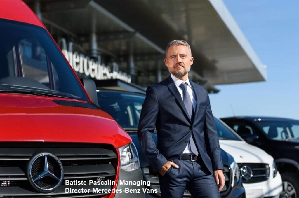 Mercedes-Benz Vans Romania - Batiste Pascalin - Managing Director 1
