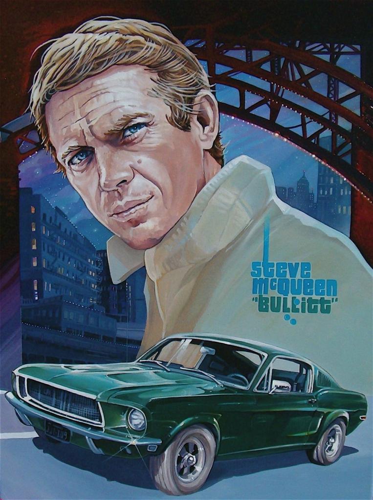 Ford Mustang Bullit - Steve McQueen