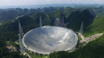 Chinezii au pus oficial în funcțiune cel mai mare radiotelescop din lume