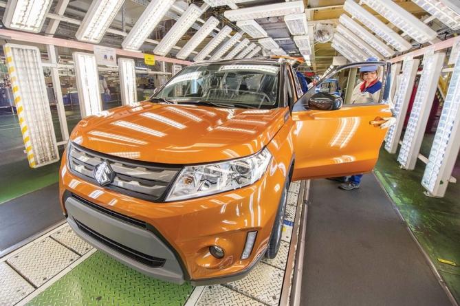 Suzuki va produce în Ungaria doar mașini cu sisteme hibride de propulsie
