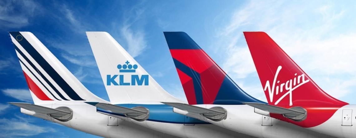 Megaalianță în transportul aerian. Parteneriat între Air France, KLM, Delta şi Virgin Atlantic