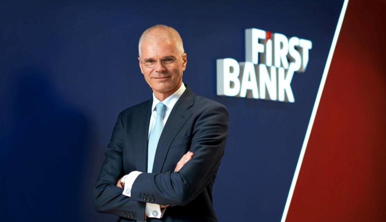 Henk Paardekooper își începe mandatul de președinte al Comitetului Executiv First Bank