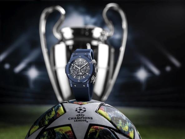 Hublot lansează Classic Fusion AeroFusion Chronograph dedicat UEFA Champions League