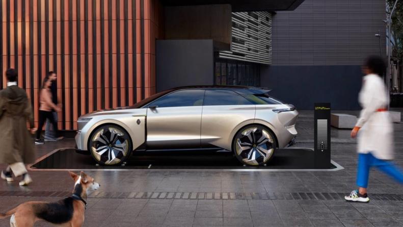 Renault pregătește un SUV electric care are la bază conceptul Morphoz