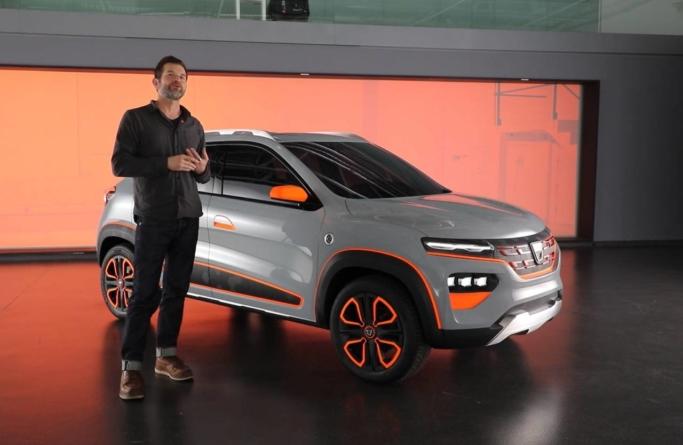 David Durand, director de design Dacia: Modelul de serie nu este mult diferit de showcar-ul Dacia Spring