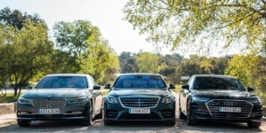 Bătălia dintre Audi A8, BMW Seria 7 și Mercedes Clasa S se mută în zona electrificării