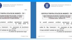Aplicaţia pentru eliberarea Certificatelor pentru Situaţie de Urgenţă a devenit funcțională