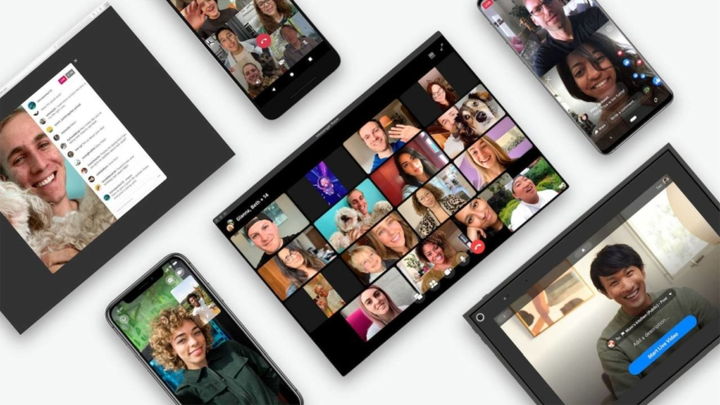 """Facebook a lansat Messenger Rooms, iar pe WhatsApp vor putea fi organizate """"întâlniri"""" video cu până la 8 participanți"""