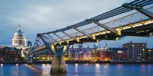 Millennium Bridge din Londra, la 20 de ani de la inaugurare