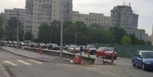 Indolența constructorului Park&Ride Pantelimon pune șoferii care tranzitează zona la grea încercare