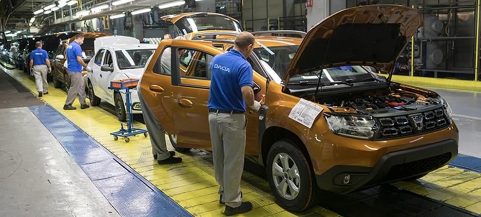 Director general Dacia: Producția uzinei este de 950 mașini / zi. În două săptămâni putem ajunge la 1.200 de vehicule / zi