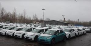 Volkswagen, nevoit să caute spații de parcare pentru mii de modele ID.3 și Golf cu probleme de soft