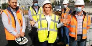 VIDEO: Constructorul P&R Pantelimon: Tramvaiul 55 va avea zonă de întoarcere la finalul lui octombrie