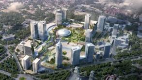 FOTO: Detaliile spectaculosului proiect de 2,87 mld. euro din zona Romexpo