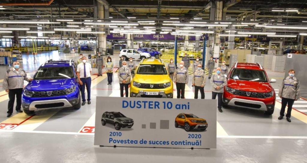 Dacia Duster - 10 ani