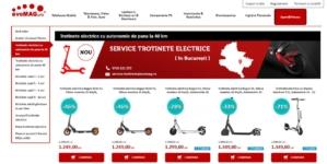 evoMag investeşte 15.000 de euro într-un service pentru trotinete electrice